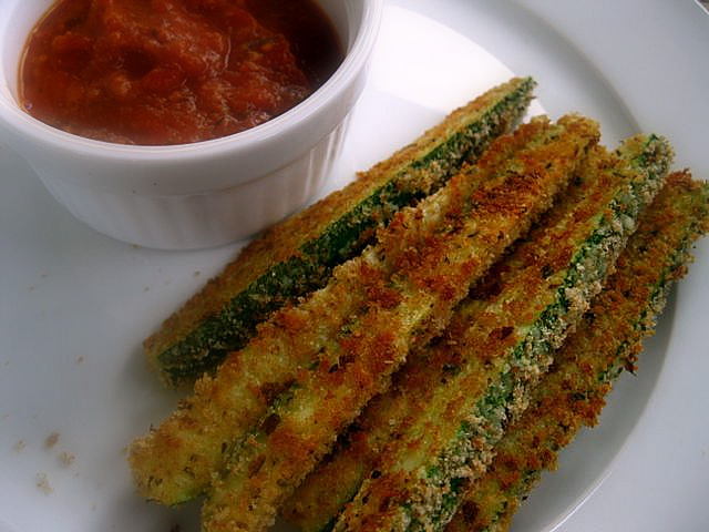 Zucchini fries | One Ordinary Day