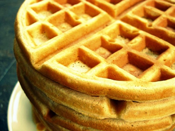 Buttermilk waffles | One Ordinary Day