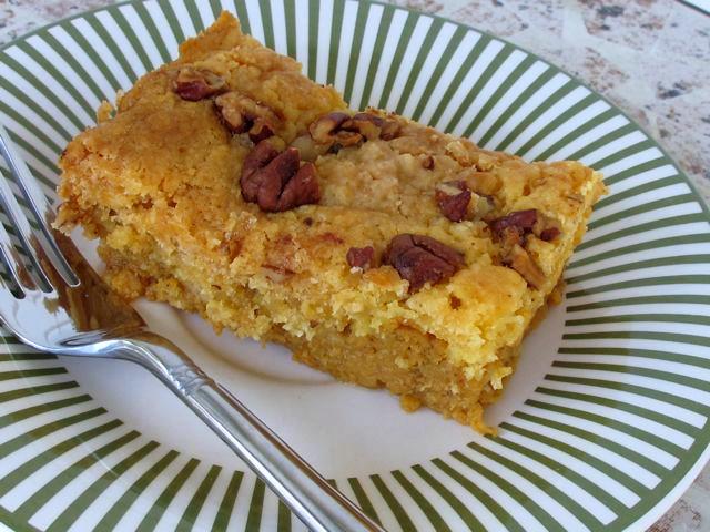 Pumpkin crunch cake | One Ordinary Day