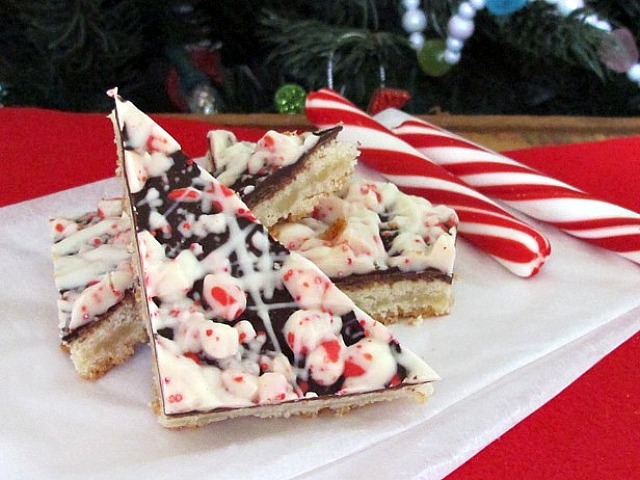Chocolate peppermint bark cookies   One Ordinary Day