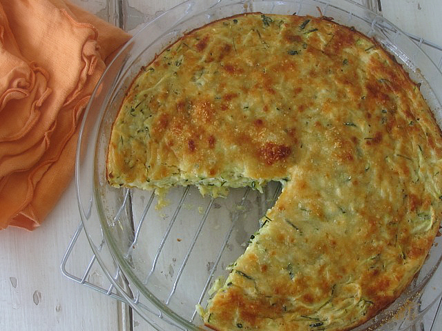 Crustless zucchini quiche | One Ordinary Day