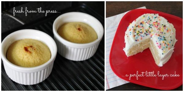 Panini press layer cake | One Ordinary Day