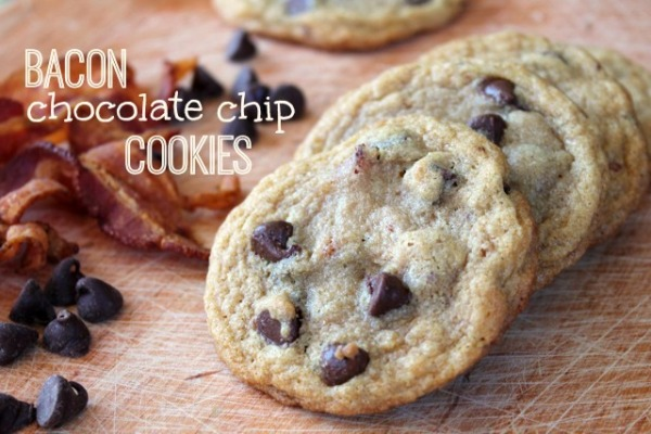 bacon choc chip cookies